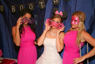 Photo booth and guests
