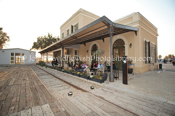 ISRAEL, Tel Aviv. Jaffa Railway Station (former Jaffa-Jerusalem Railway) (3.2012)