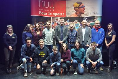 Trophées et mérites sportifs 2017 de la Ville de Huy