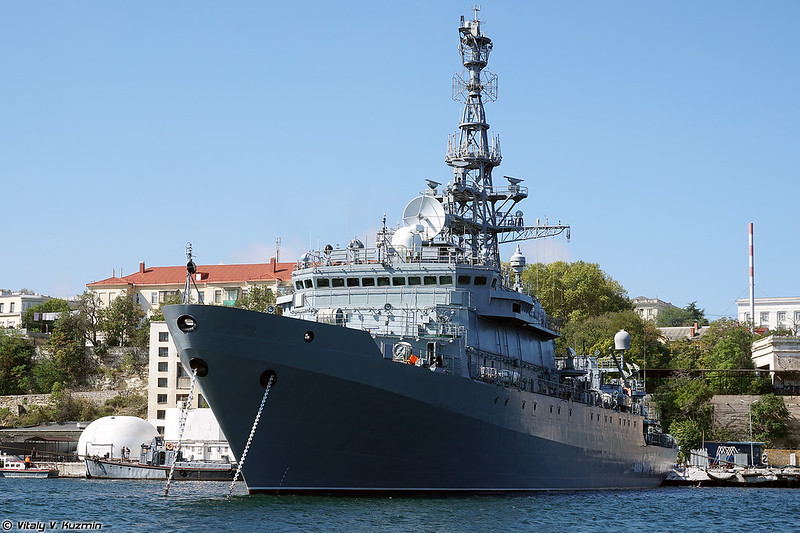 Black Sea Fleet and Coast Guard ships in Sevastopol harbour, September 2020