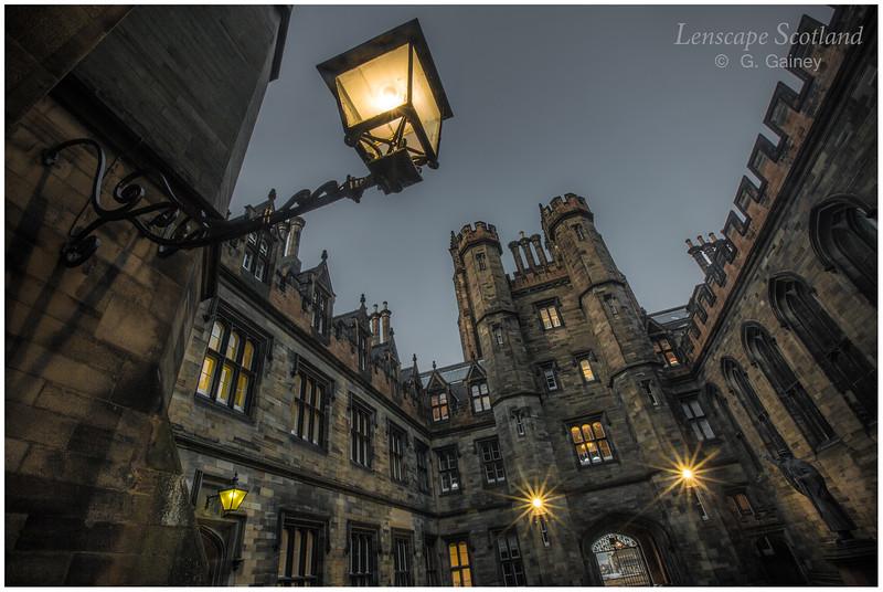 New College quadrangle lamp 2