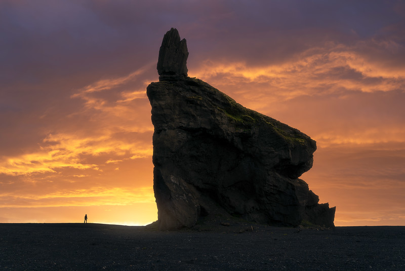 Hjörleifshöfði Iceland Landscape Photography composite epic sunset sunrise.jpg