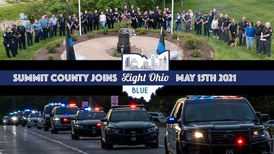 Summit County Light Ohio Blue