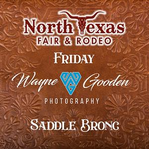 Friday Night Saddle Bronc