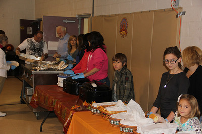 Free Thanksgiving Meal, Salvation Army, Tamaqua (11-22-2012)