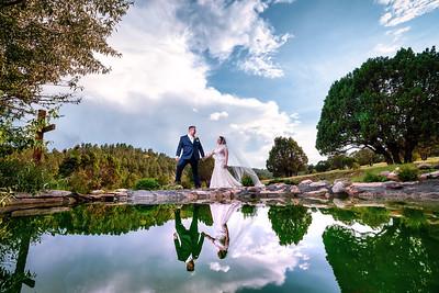Ruidoso New Mexico Destination Summer Wedding