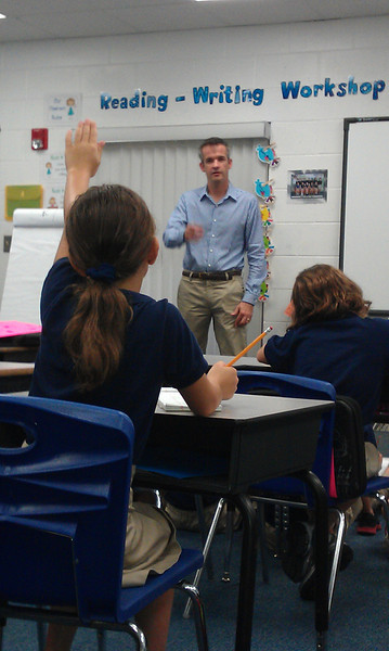 3rd - 5th Grade Interviews an Author - Mr. Deitche