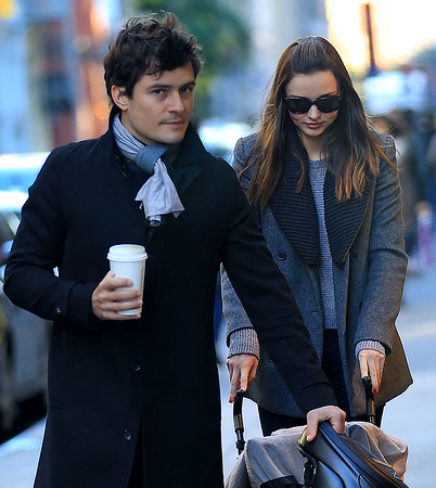 2011-10-30 - Miranda Kerr, Orlando Bloom