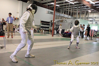 Fencing Tournament 5-2012