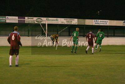 11/10/11 Brentwood Town (H) League Cup