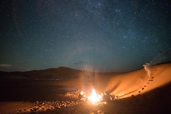 Saharan Camp Fire