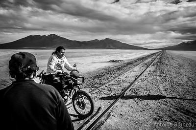 Siloli desert, Bolivia.