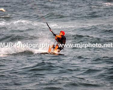 Kite Boarding, Gilgo Beach, NY, (9-9-06)