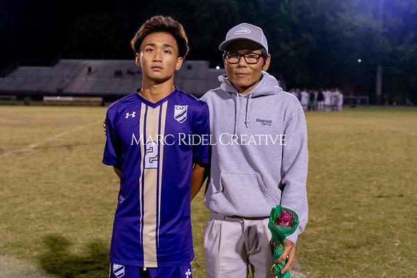 Broughton soccer senior night vs Leesville. October 21, 2019. D4S_8567