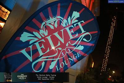 Velvet Lounge - 16th September 2013