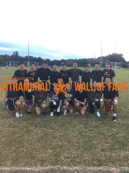 Fall 2017 Flag Football Coed B Runner Up Crossroads 3