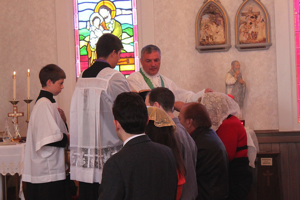 2013 Vesting of the Scapular at the Oratory (July 21, 2013)