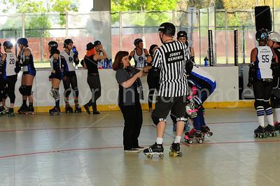 Day 2 - Santa Cruz Derby Girls vs Atomic Assault