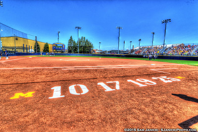 5-3-15 Michigan Softball Vs Penn State Game 3