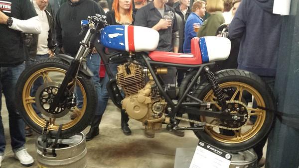 Garage Brewed Moto Show - Rhinegeist Brewery - Cincinnati - 6 Feb '16