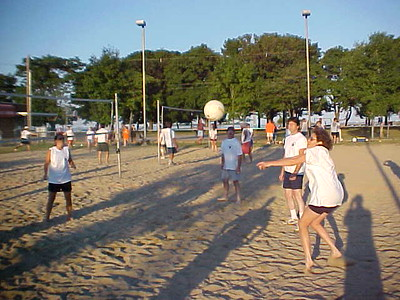 Volleyball 7-18-01