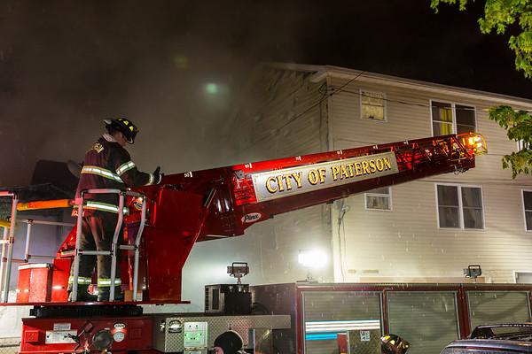 Paterson NJ 3rd alarm, 49 William St, 04-25-21