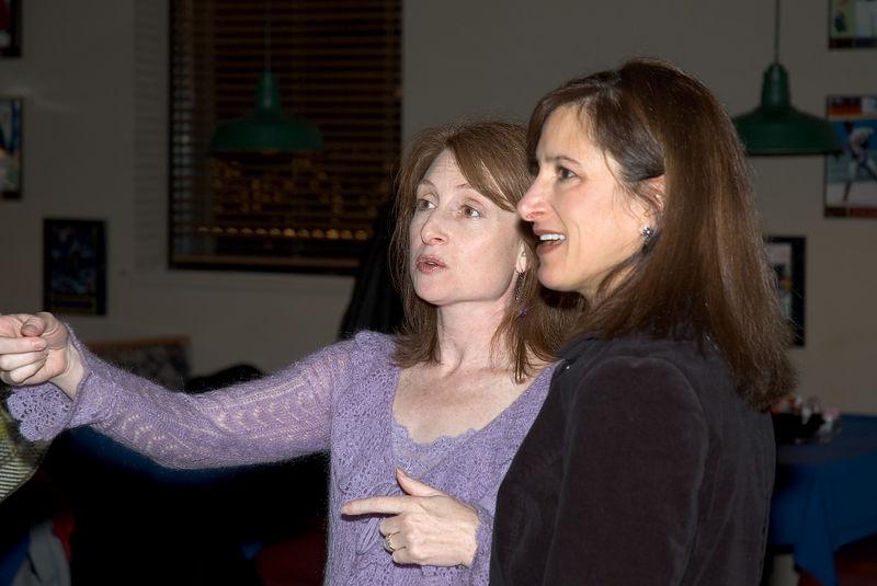 Karen with friend Beth   (Dec 03, 2005, 07:51pm)