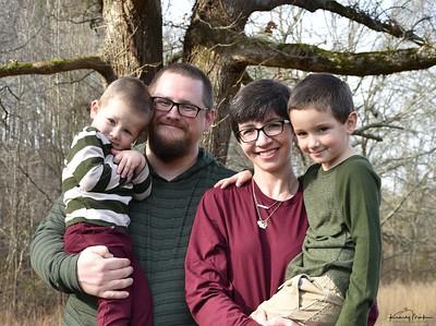 Christensen family December 2019
