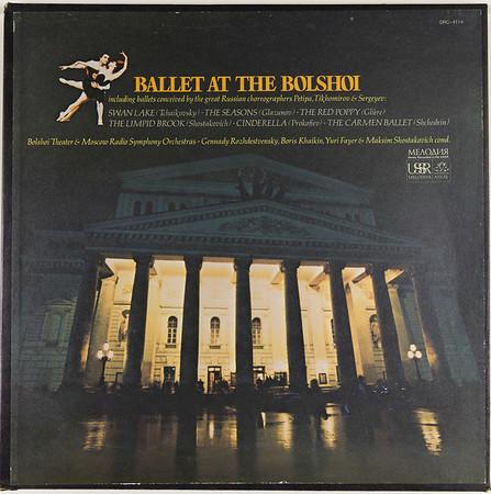 Angel-Melodiya SRC-4114 Ballet Bolshoi
