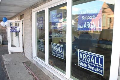 Argall's New Campaign HQs, Mauch Chunk St, Tamaqua (3-14-2012)