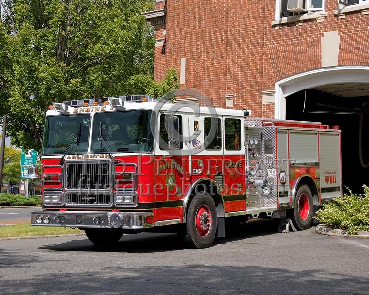 New Arlington, Mass. Seagrave Pumper - Engine Co. 1