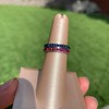 Art Deco Sapphire and Ruby Matched Bands, by Tiffany & Co 10