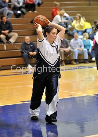 Wyomissing VS Oley Girls Basketball 2009-2010