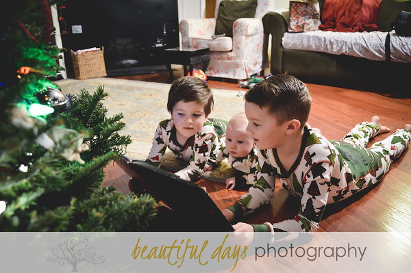 Walker, Paxton, & Sawyer - Christmas 2016