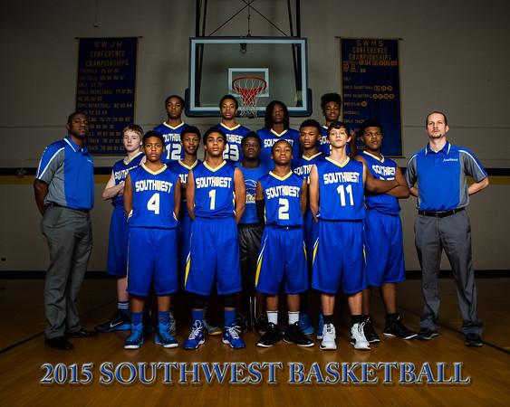 2015 Southwest Boys Team Photos