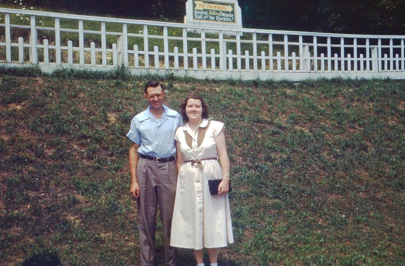 1951 July - Gertrude and Ralph Fondell