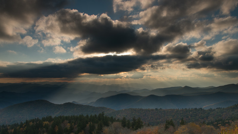 North Carolina Mountains and Light