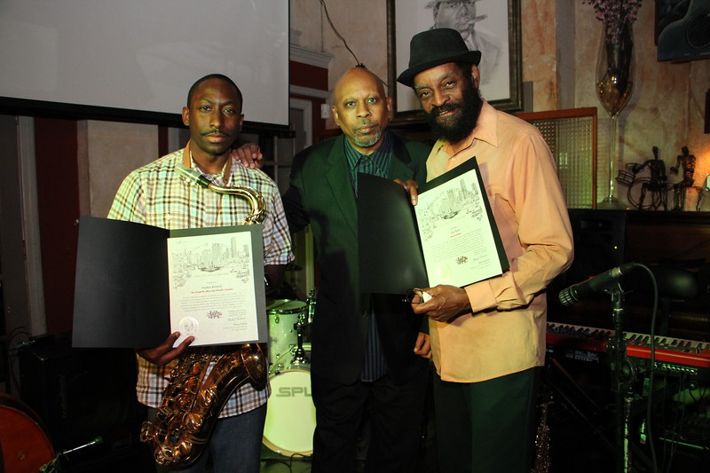 T.R. Reed's Monday Night Jazz Jam receives Proclamation from Houston City Councilman Michael Kubosh