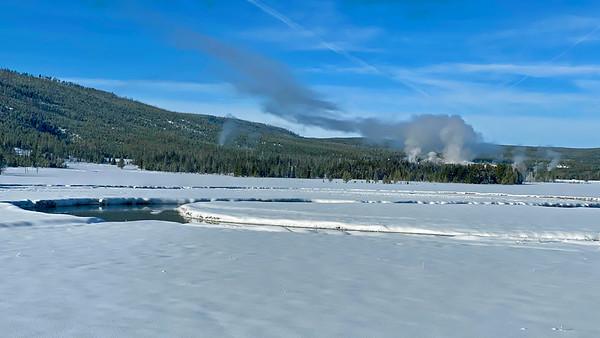 Winter in Yellowstone 2021
