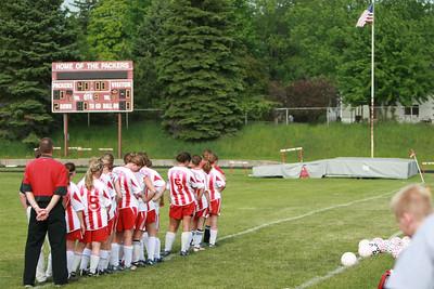 Girls Varsity Soccer - 2006-2007 - 5/21/2007 Ludington