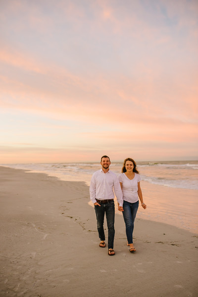 Indian Rocks Beach Family Portraits Sunrise