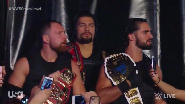 The Shield - Screencaps Raw (Oct 8, 2018)