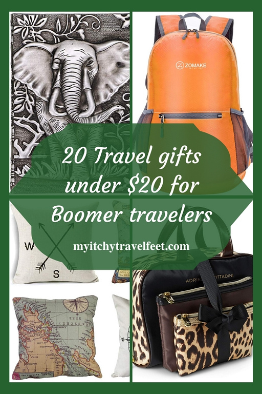 20 travel gifts under $20 for boomer travelers