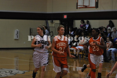 JV Lady Tigers at New Waverly