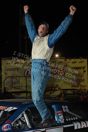 "Mid American Stock Car Series ""Oktoberfest 40"" Victory Lane"