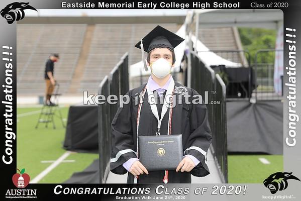 Eastside Memorial Grad Walk 2020