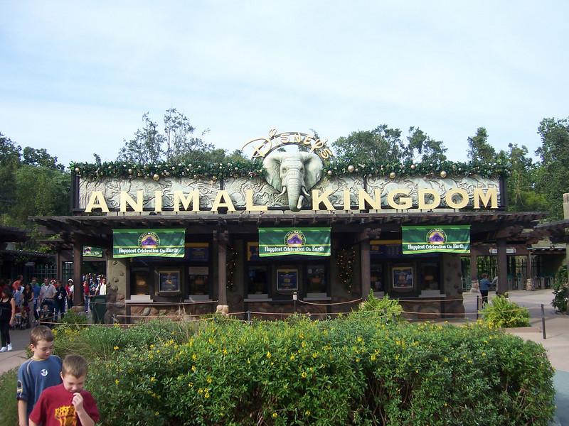 Main gate at Animal Kingdom.