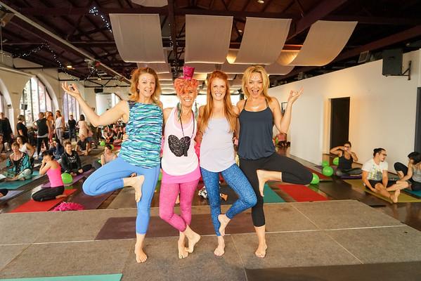 Rock Your Body Disco Yoga