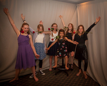 A Night on Broadway: the Vashon Island Father Daughter Dance 2017
