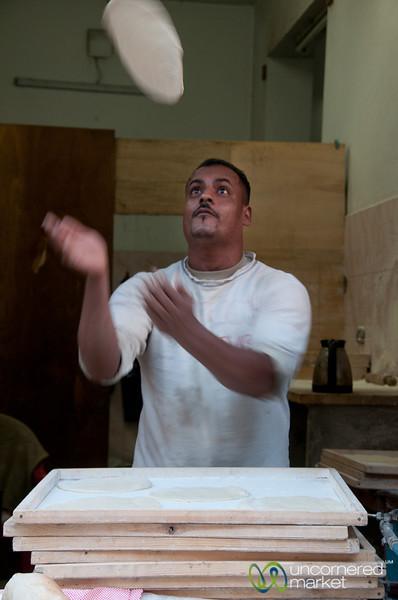Pita Bread Master - Alexandria, Egypt